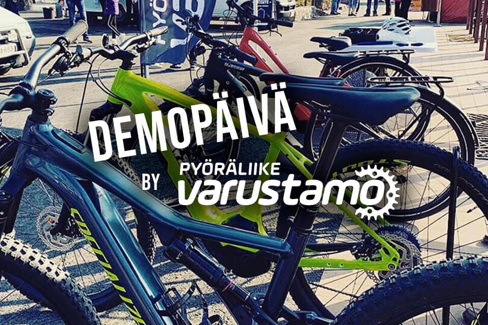 Pyöräliike Varustamo Demopäivä