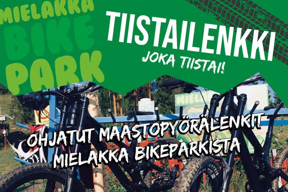 Ohjatut pyörälenkit Mielakka Bikepark