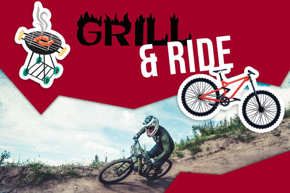 Grill & Ride - aja ja herkuttele Bikeparkissa