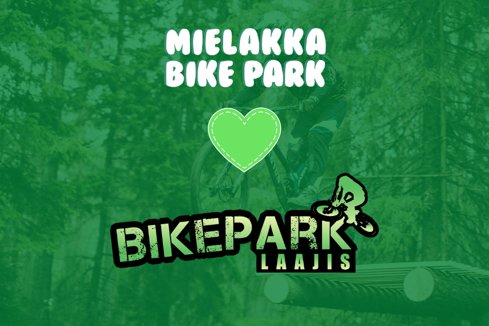 Laajis Bikepark kausarilla maksutta